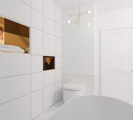 Projekt łazienki TARNÓW
