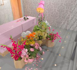Projekt kwiaciarni